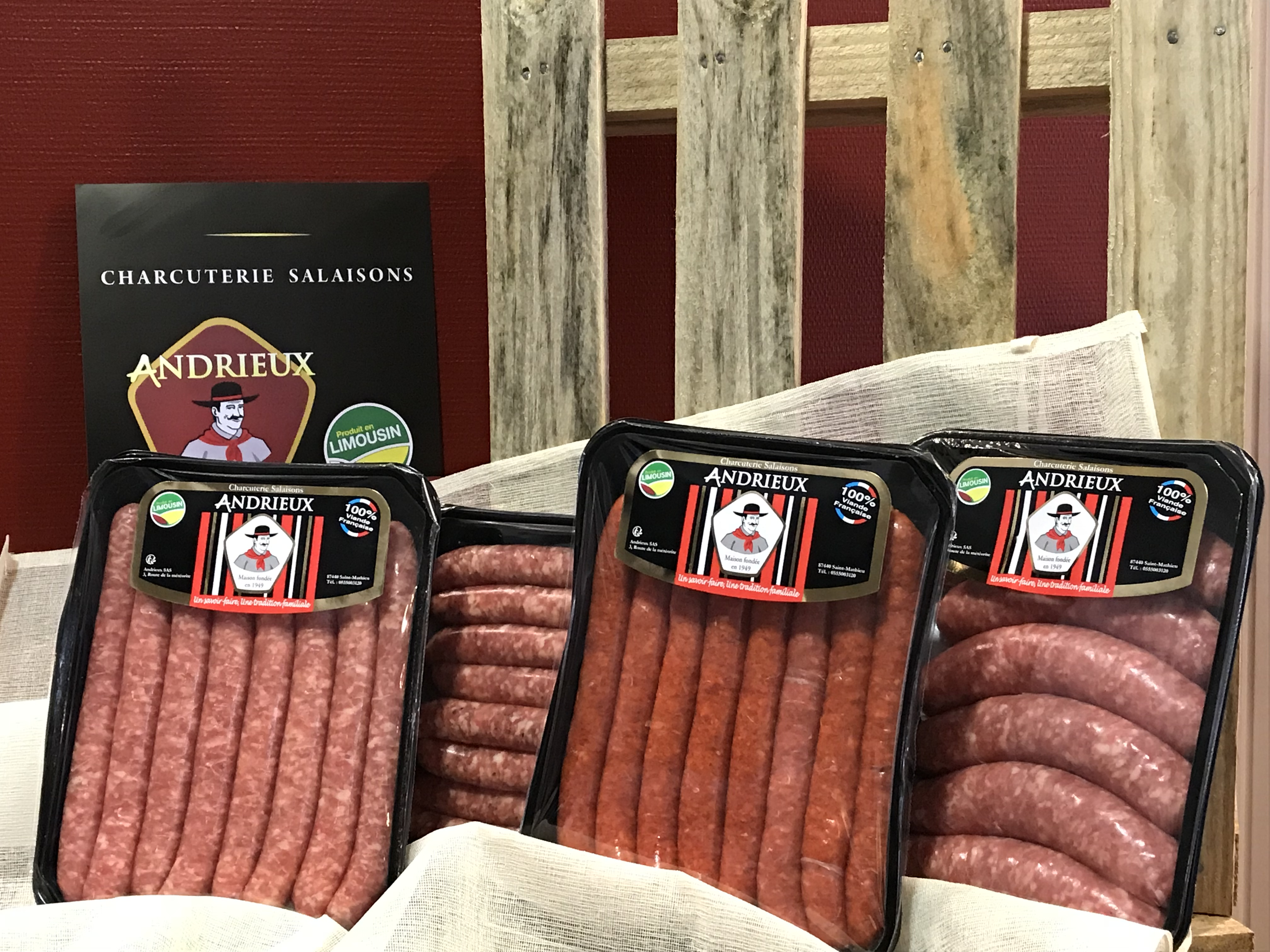 gamme ANDRIEUX saucisserie